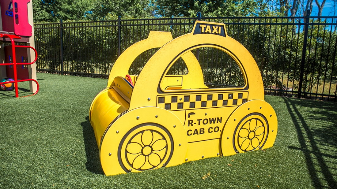 themed taxi vehicle